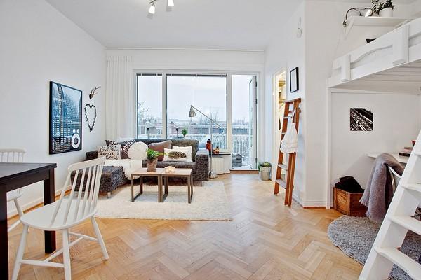 Hai căn hộ nhỏ nhìn là phát mê