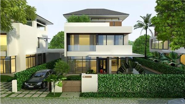 Thiết kế xây biệt thự nhà vườn - NHÀ PHỐ SÀI GÒN