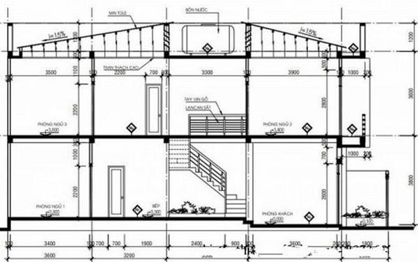 Mẫu thiết kế nhà phố đẹp 2 tầng 5x16m hiện đại tiết kiệm chi phí