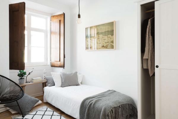 Những thiết kế phòng ngủ nhỏ nhắn dành riêng cho cô nàng độc thân vui vẻ