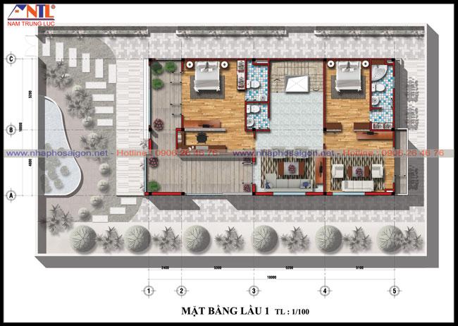 Mẫu thiết kế biệt thự hiện đại - Nhà Phố Sài Gòn