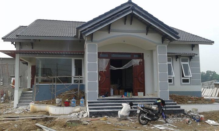 Nhà phố anh HOÀNG MINH HÙNG