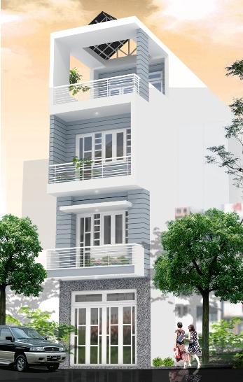 GIÁ XÂY NHÀ PHỐ 3 TẦNG - Nhà Phố Sài Gòn