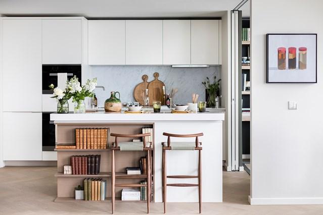 Những ý tưởng thiết kế nhà bếp đẹp không góc chết