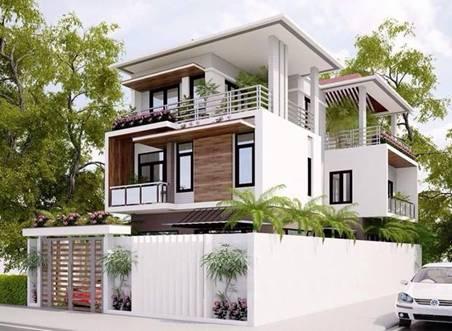 Thiết kế nhà đẹp 2016 - Nhà Phố Sài Gòn