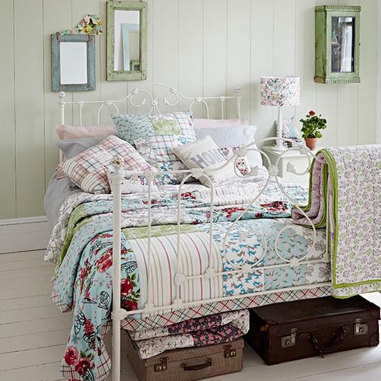 Thiết kế phòng ngủ theo phong cách Shabby Chic