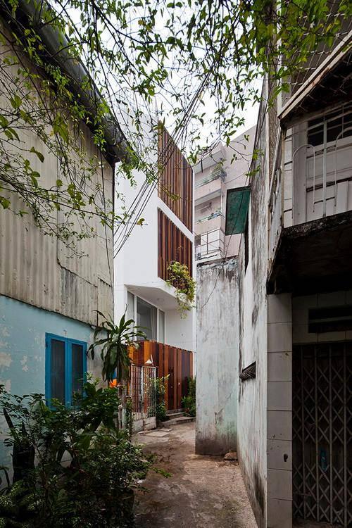 Xây nhà phố đẹp không ngại không gian